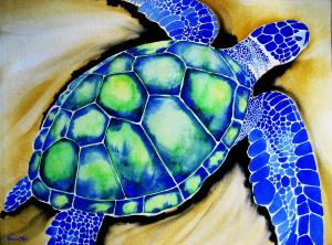 Blue Turtle SOLD